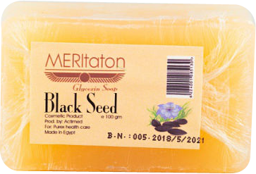 meritaton glycerin soap with black seed oil