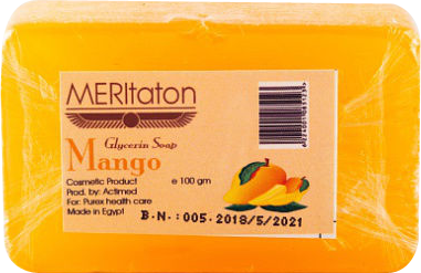 meritaton glycerin soap with mango oil