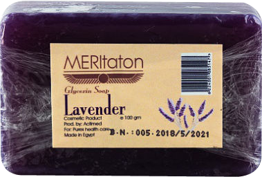 meritaton glycerin soap with lavender oil