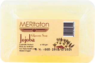 meritaton glycerin soap with jojoba oil