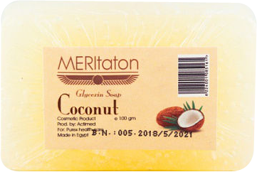 meritaton glycerin soap with coconut oil