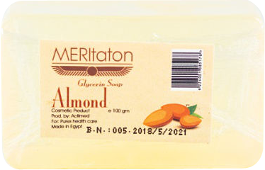 meritaton glycerin soap with almond oil