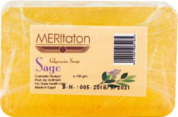 meritaton glycerin soap with sage oil