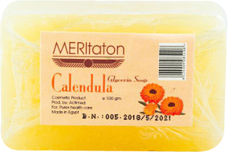 meritaton glycerin soap with calendula oil