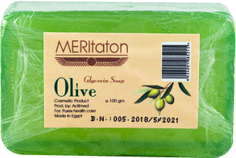 meritaton glycerin soap with olive oil