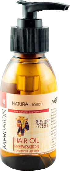 meritaton  hair oil