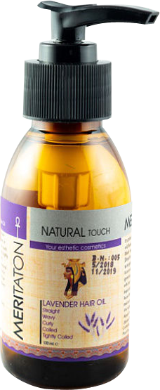 meritaton hair oil with lavander